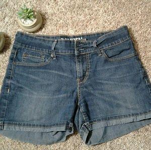 Authentic Denizen jean shorts